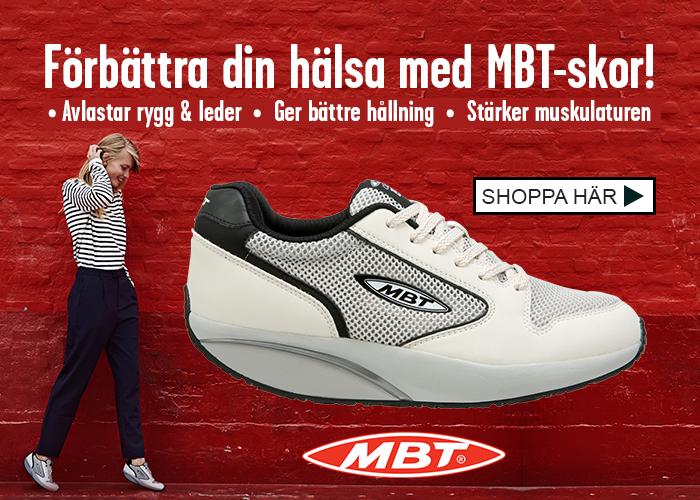 Förbättra din hälsa med MBT-skor!
