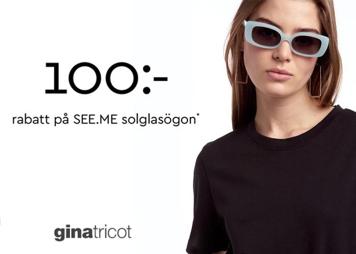 100 kr rabatt på SEE.ME solglasögon