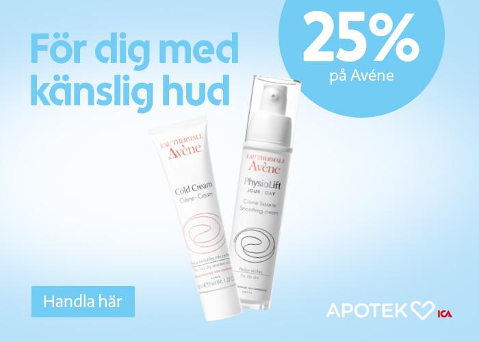 25% rabatt på hudvård!