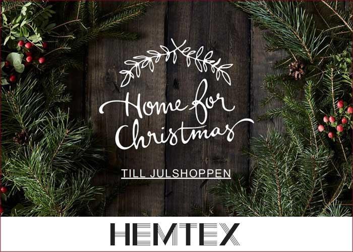 Lyxiga julklappar från Hemtex!