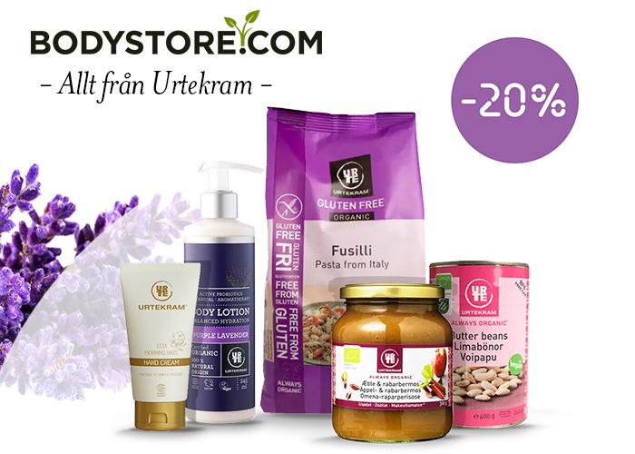 -20% rabatt på Urtekram