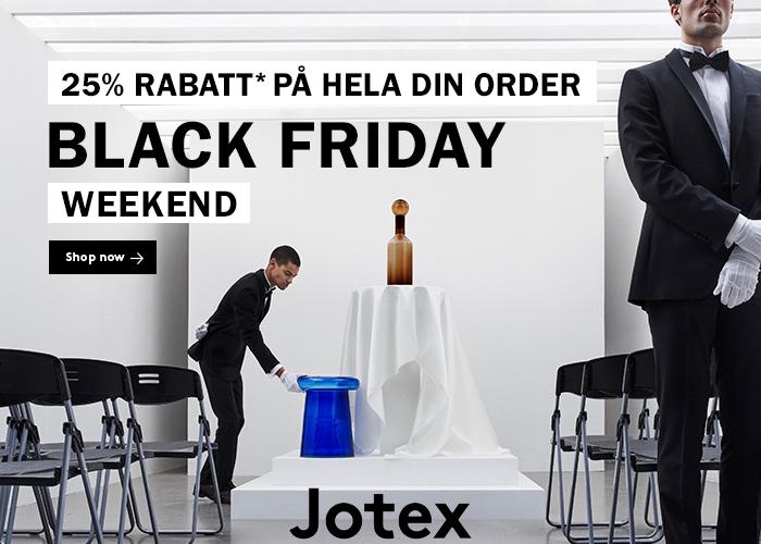 Black Friday is here! 25% rabatt*💥