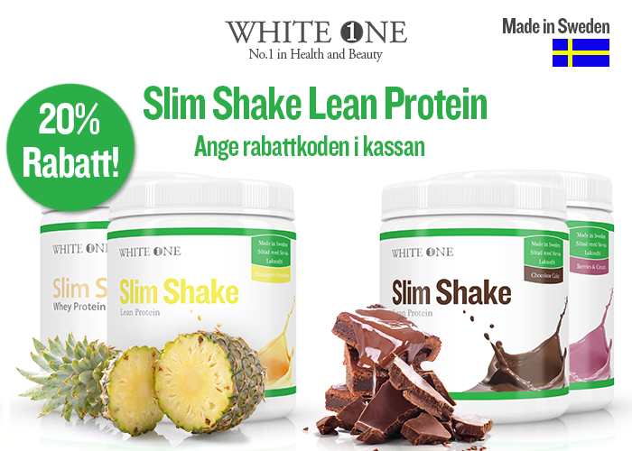 20% på Slim Shake Protein!