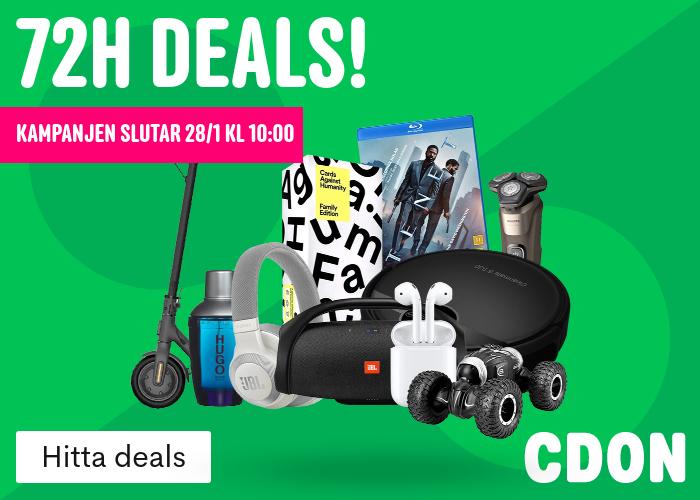 Missa inte 72H deals!