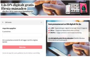 Dagens Nyheter - digitalt