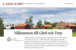 Gård&Torp prenumeration